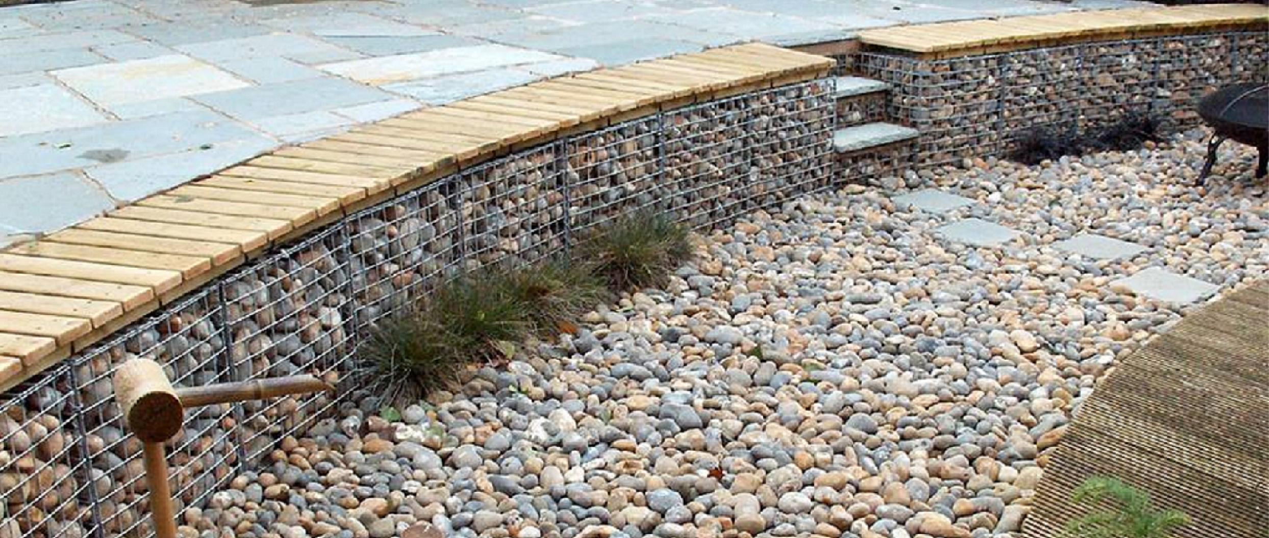 small gabion 675mm x 675mm x 675mm devoran garden gabions. Black Bedroom Furniture Sets. Home Design Ideas