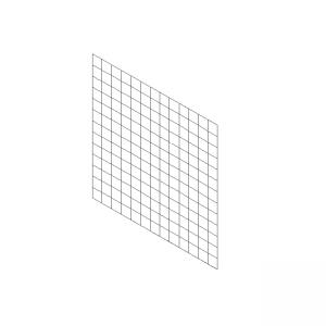 1m x 1m gabion separating panel