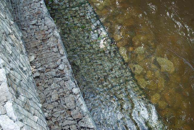 Gabions river control