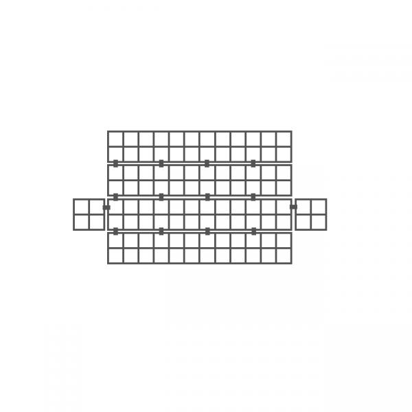 small gabion basket 900 x 150 x 150mm