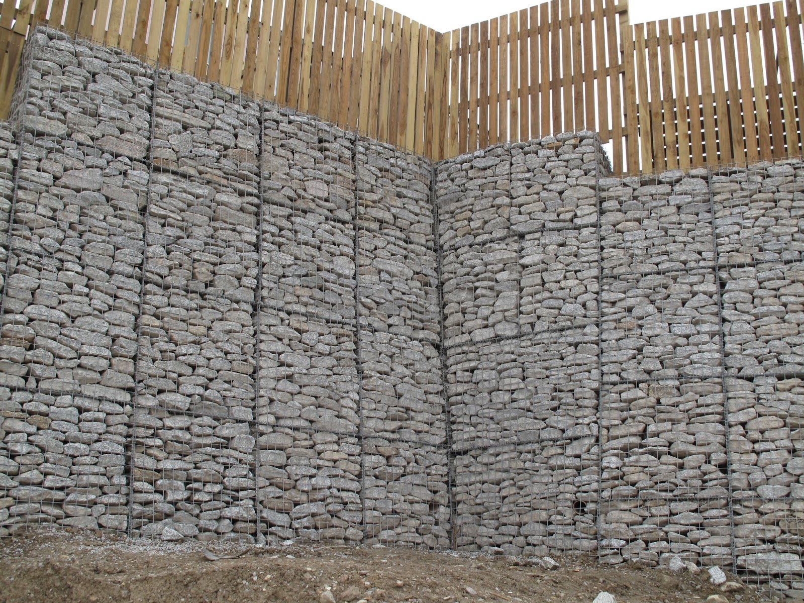 Retaining wall gabion baskets 2m x 1m x 1m cages Gabion wall design