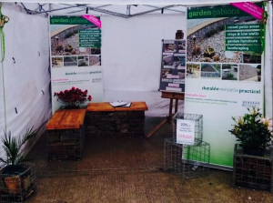 Devoran Garden Gabions stand at the CHLS 2015.